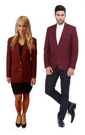 9 Latest Collection of Maroon Blazers for Men & Women