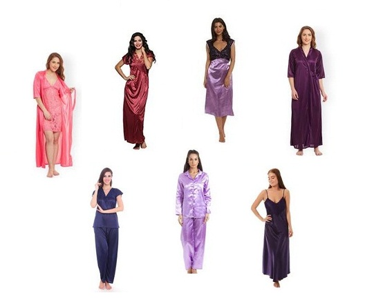 Satin Nightdresses