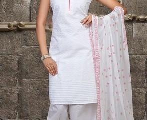 A White Salwar Top