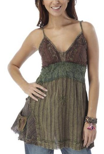 A camisole tank top