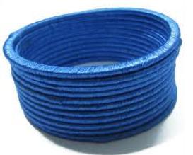 Acrylic Blue Bangles