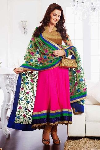 Anarkali readymade salwar suit design