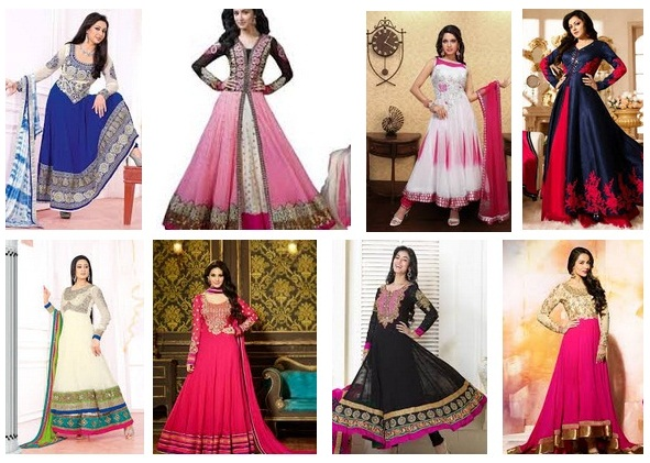 Anarkali Salwar Suits Designs
