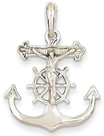Anchor Cross Pendant