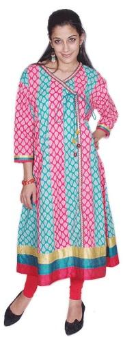 Angrakha Style Designer Suits