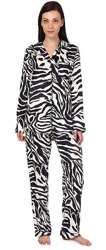 Animal print night suits