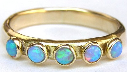 Anniversary Opal Ring