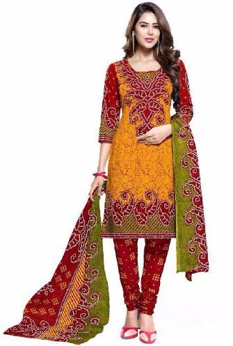 Bandhini Print Salwar Suit