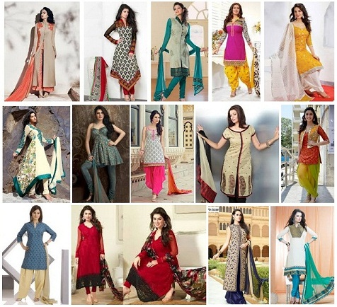salwar kameez top designs