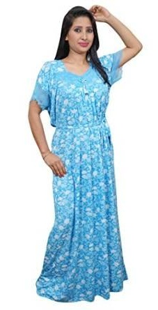 Blue night maxi for women