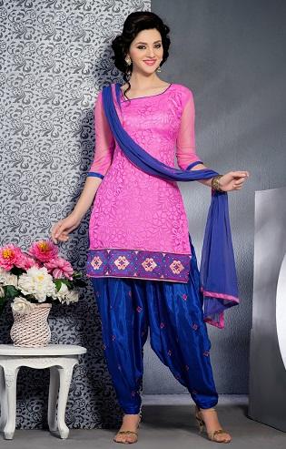 Brasso Silk Salwar Suit