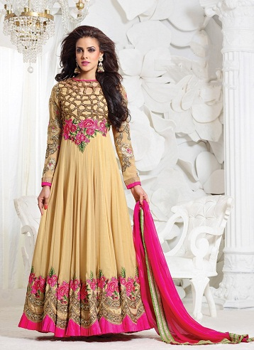 Bridal Long Salwar Kameez Suit