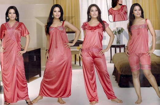 Bridal Nightwear Set. Women on their first night ... 3df166722
