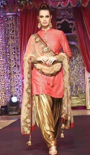 Bridal Patiala Salwar Kameez