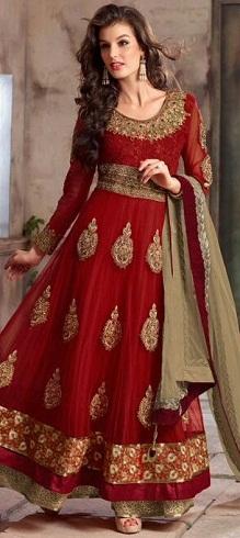 Bridal Red Salwar Suits