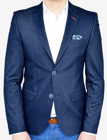 Casual Cotton Blazer