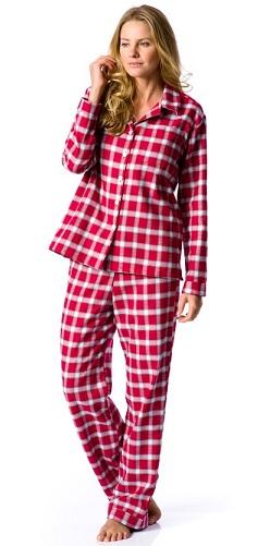 Checkered British night pajamas