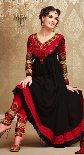 Churidar Embroidery Salwar Suit