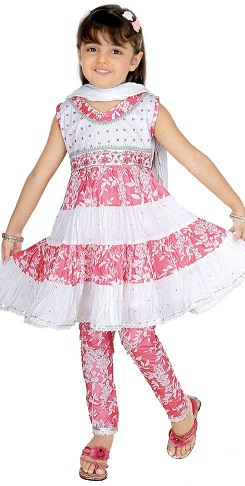 Churidar Salwar Suit for Kids