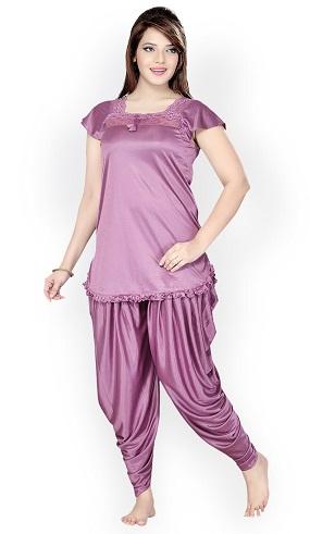 Comfortable splits pajama night wear