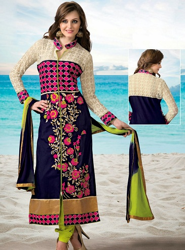 Cotton Long Salwar Kameez Designs