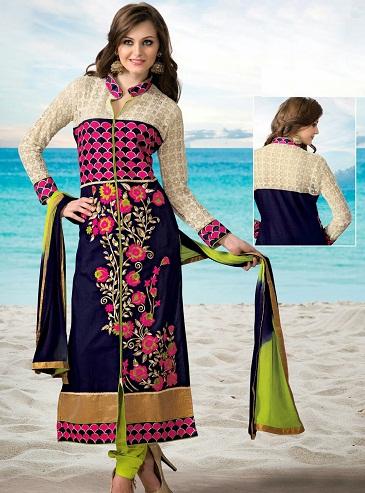 Cotton Long Salwar Kameez Designs