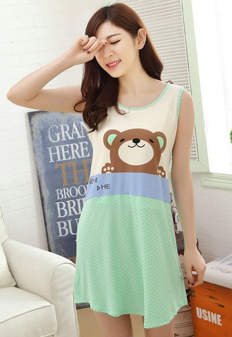Cotton Nighty for Girls
