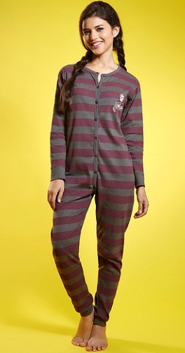 Cotton night wear jumpsuit