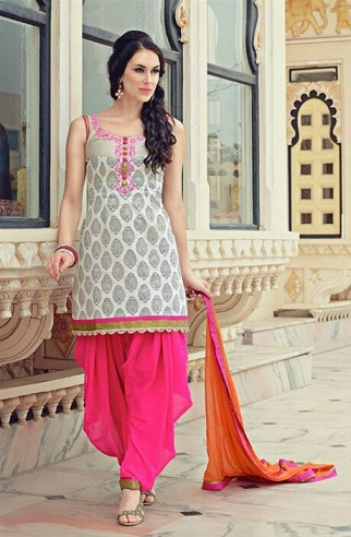 Cotton stylish Punjabi Salwar Suit