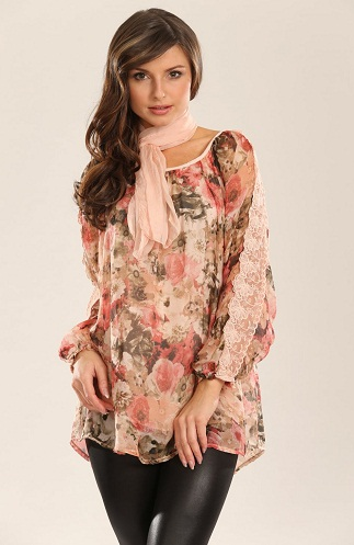 7cc3b40f8ed50 9 Trendy Silk Tops for Ladies in Different Styles