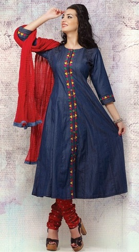 Denim Salwar Suit