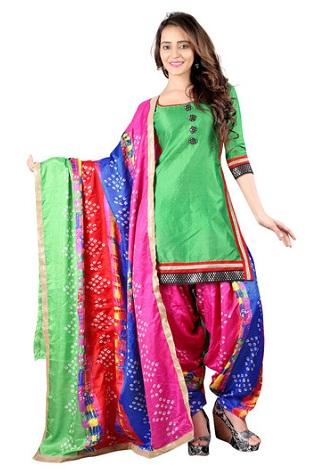 Designer Bandhani Salwar Suit