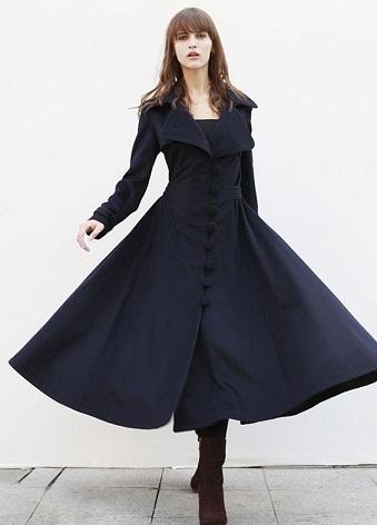 Designer Long Blazer Gown