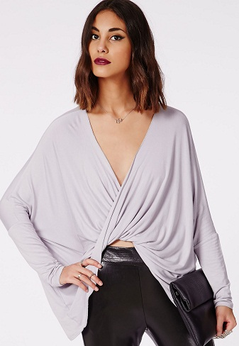 Designer Loose Wrap Top