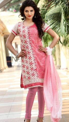Designer Silk Salwar Kameez Designs
