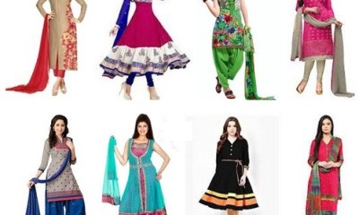 Different Designs of Salwar Suits for Womens