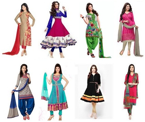salwar suits for womens