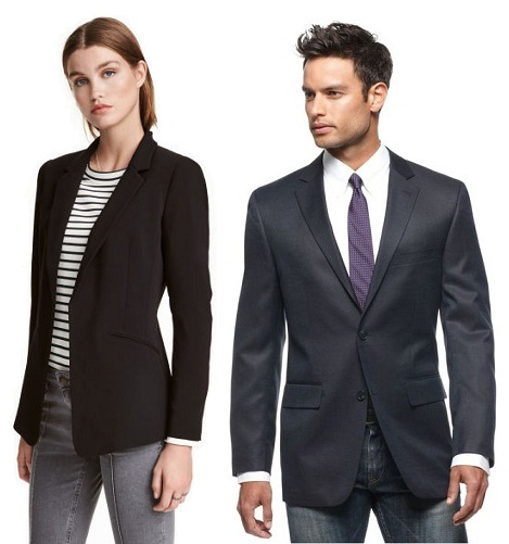 Different Styles of Black Blazers for Men & Women
