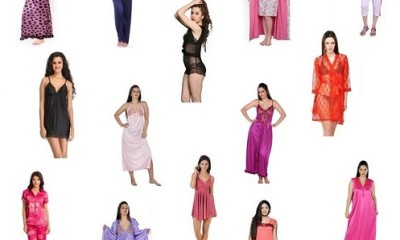Different Types of Nightwear for Women in India