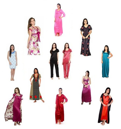 Different Types of Nighty Designs for Women in India