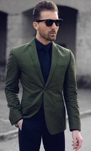 Dinner Jacket Cotton Blazer