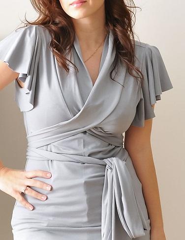 Dressy Wrap Top