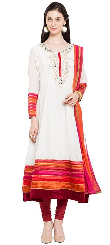 Elegant Cotton Salwar Suit Design