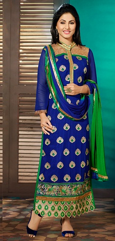 Embroidered Designer Salwar Kameez Suit