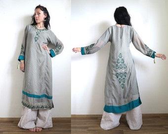 Embroidered Plus Size Kurta Design