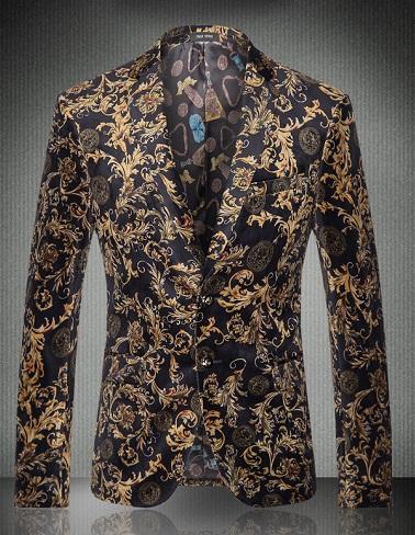 Embroidery blazer