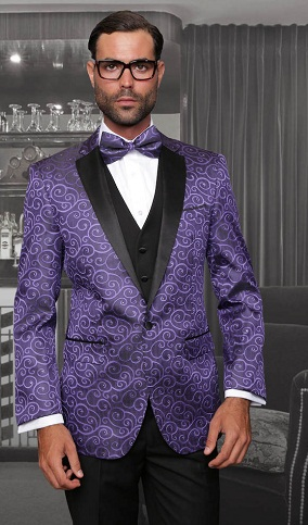 Fancy Purple Blazer