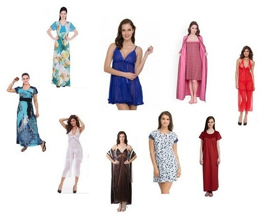 Fashionable Designer Nighties for Women