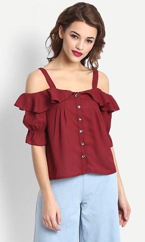 Flair shirt Design Top