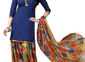 Floral Print Salwar Suit